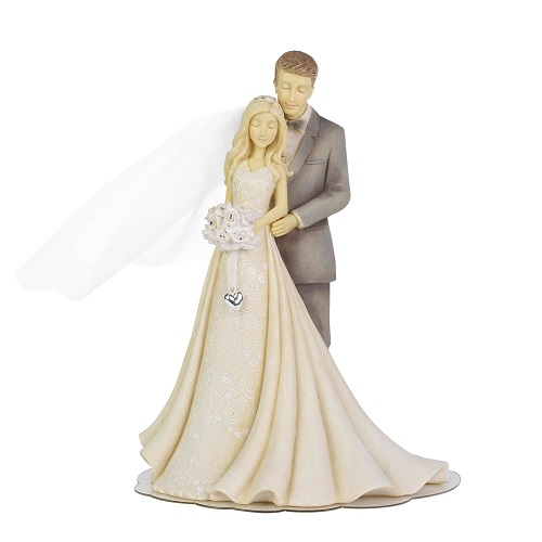 Bride & Groom Wedding Cake Topper Figure