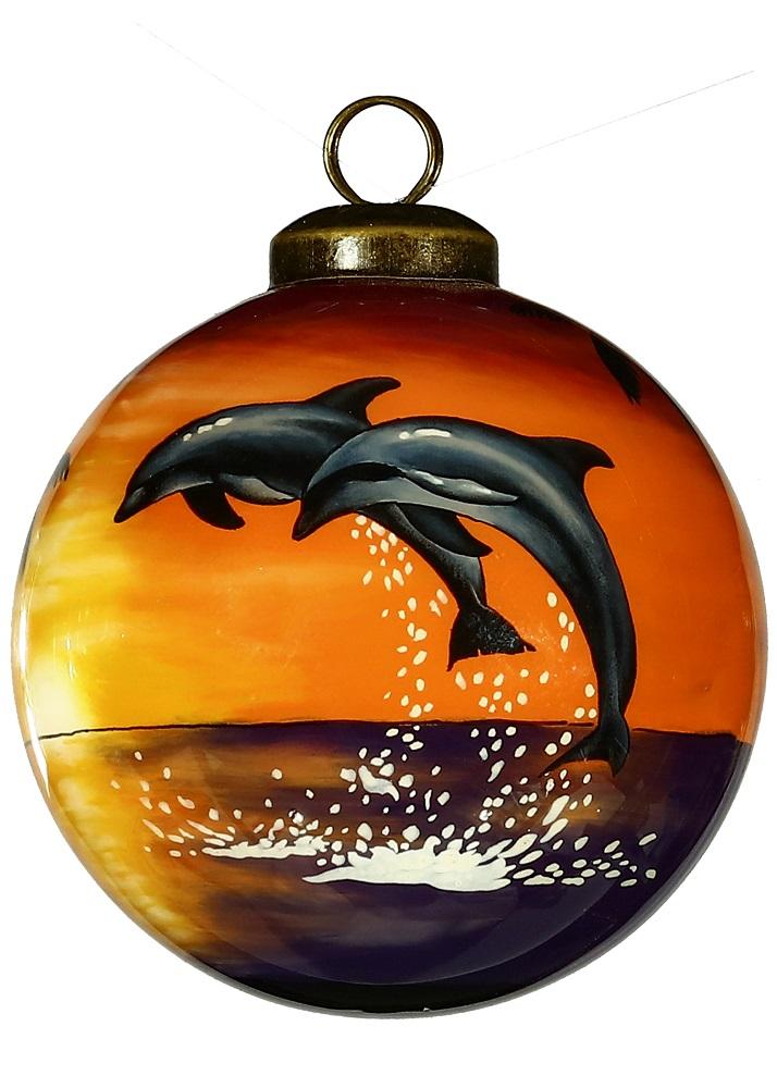 Sunset Dolphin