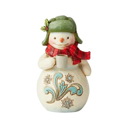 Mini Snowman With Cocoa