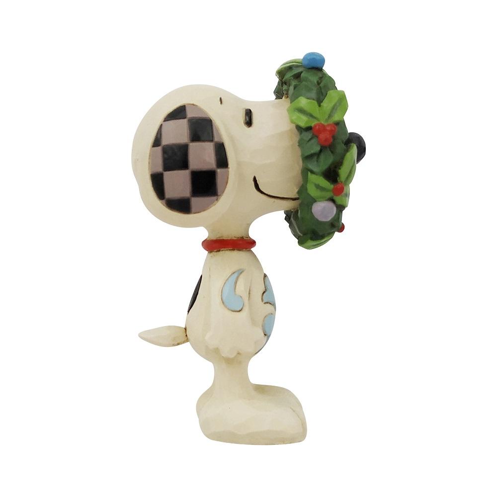 Snoopy In Wreath Mini