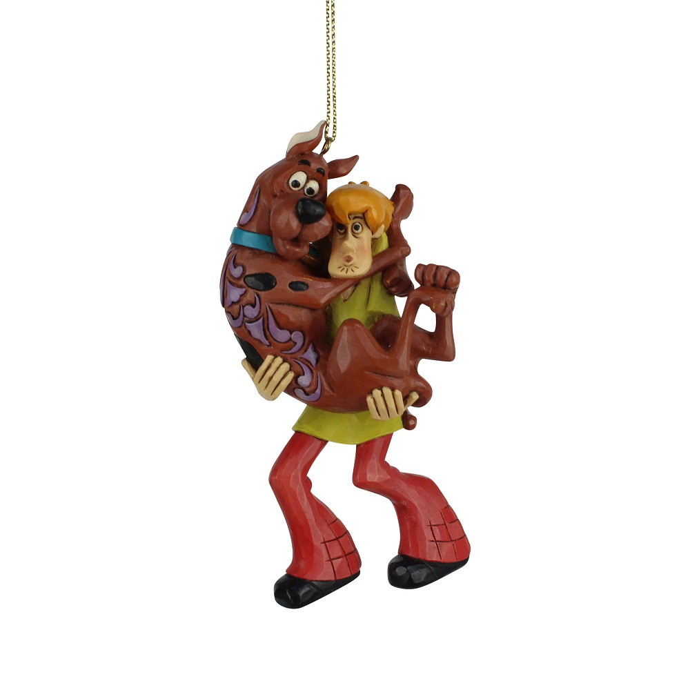 Shaggy Holding Scooby Doo Ornament
