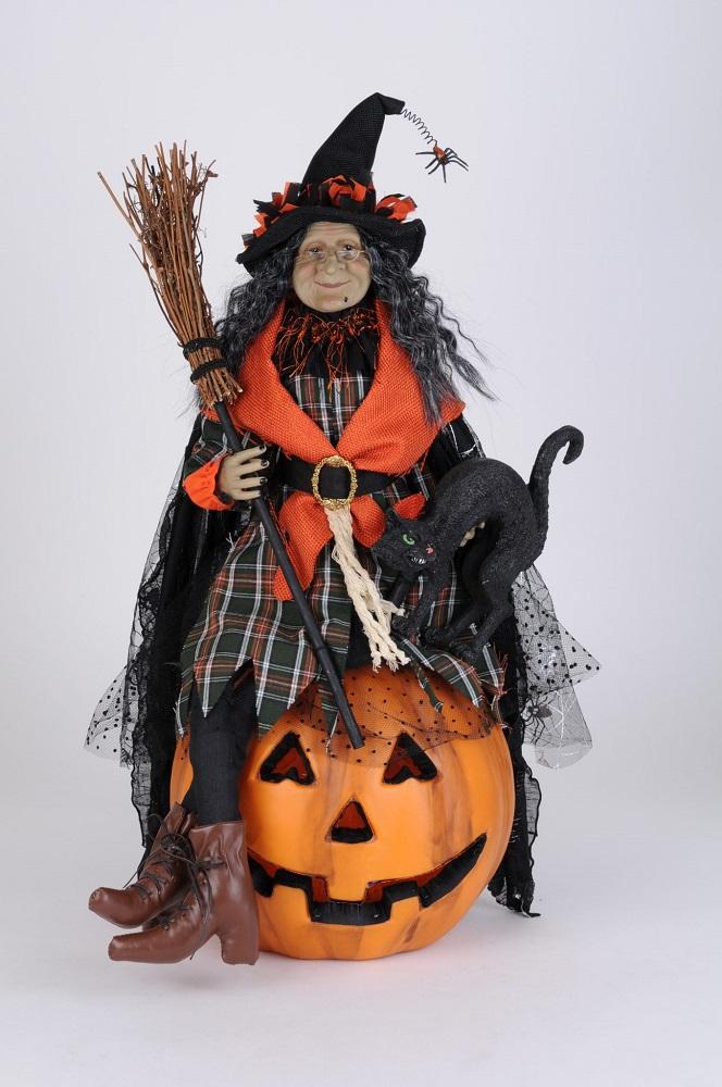 Lighted Ida Witch