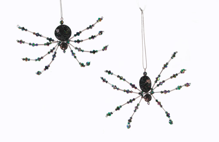 Speckled Spider Ornament