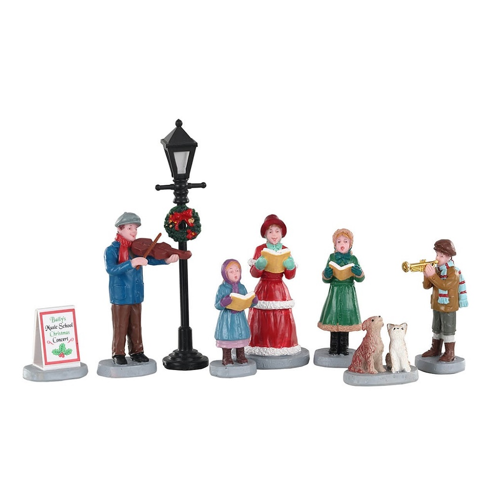 Baily's Music School Carolers