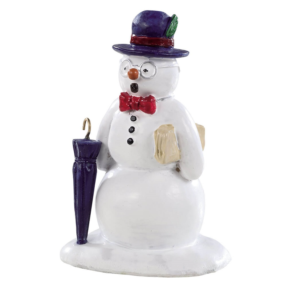 Dapper And Debonair Snowman