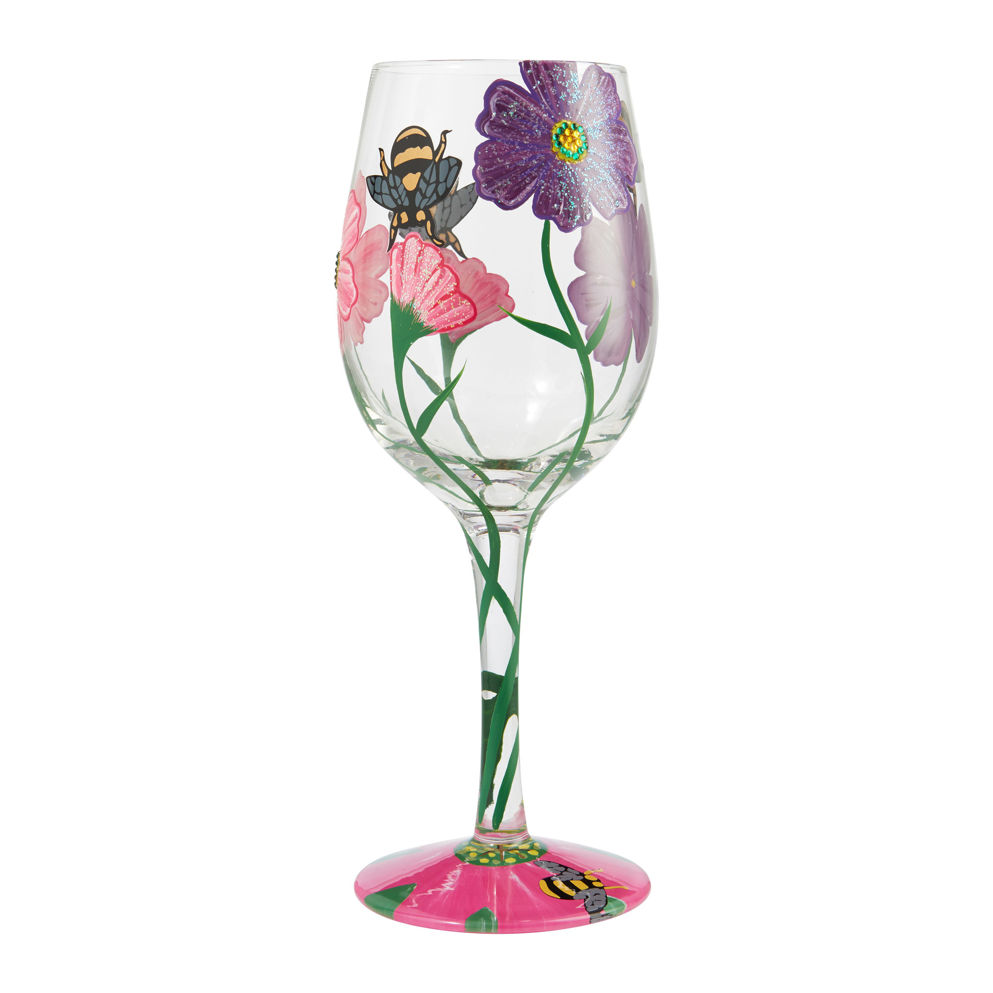 Wine Glass My Drinking Garden