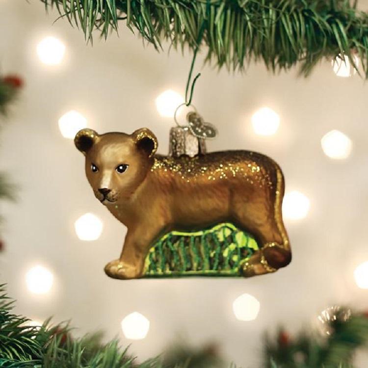 Lion Cub Ornament