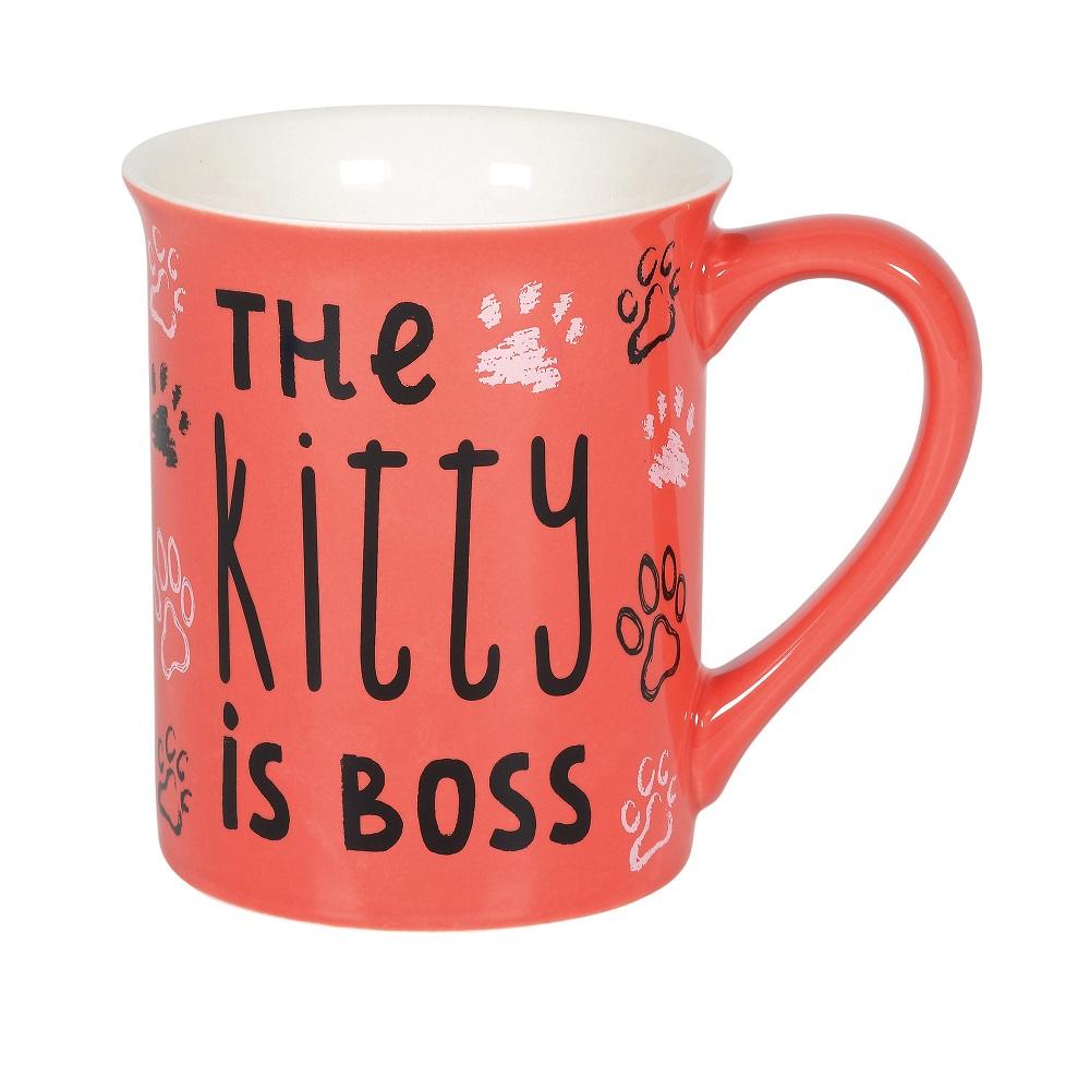 Kitty is Boss Mug