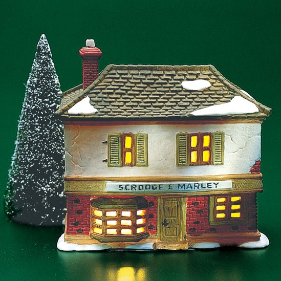 Department 56 65005b Scrooge Marley Counting House